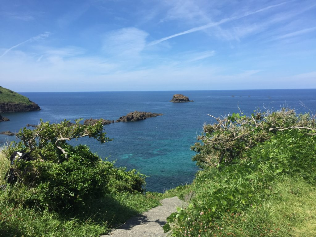 佐渡ヶ島キャンプ
